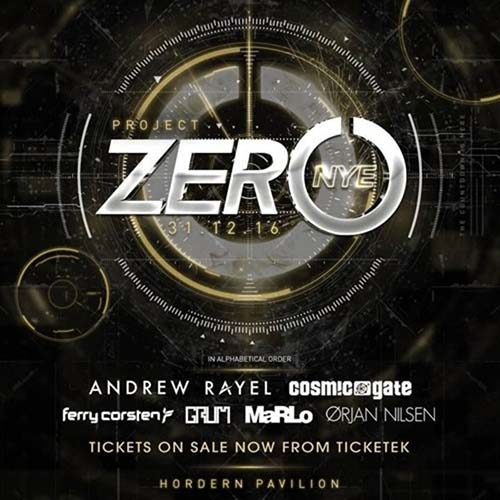 Ferry Corsten @ Project Zero NYE (Hordern Pavilion, Sydney) – 31.12.2016