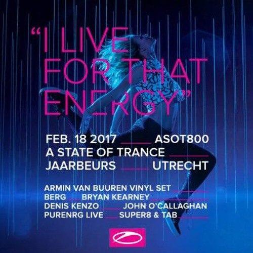 Chris Schweizer @ A State Of Trance 800 Festival (Utrecht) – 18.02.2017