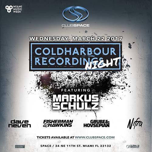 Fisherman & Hawkins – Live @ Coldharbour Night, Club Space Miami (United States) – 22.03.2017
