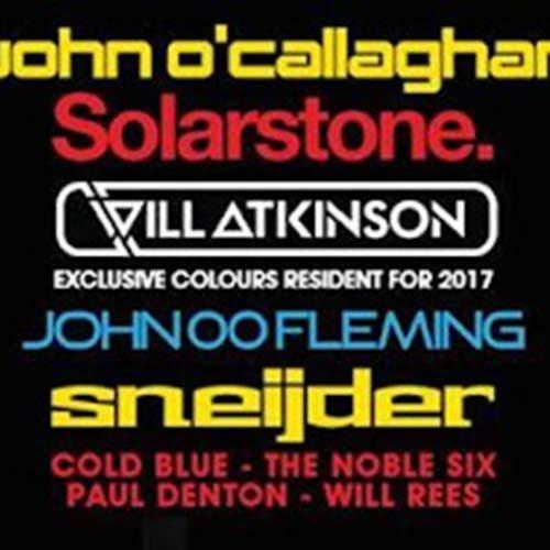Sneijder – live @ Colours, SWG3 Warehouse (Glasgow, Scotland) – 04.03.2017
