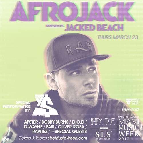 D.O.D – live @ Jacked Beach, Hyde Beach (Miami Music Week, USA) – 23.03.2017