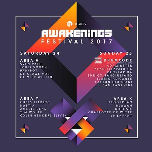Sam Paganini – Live @ Awakenings Festival 2017 Day 2 (Amsterdam)
