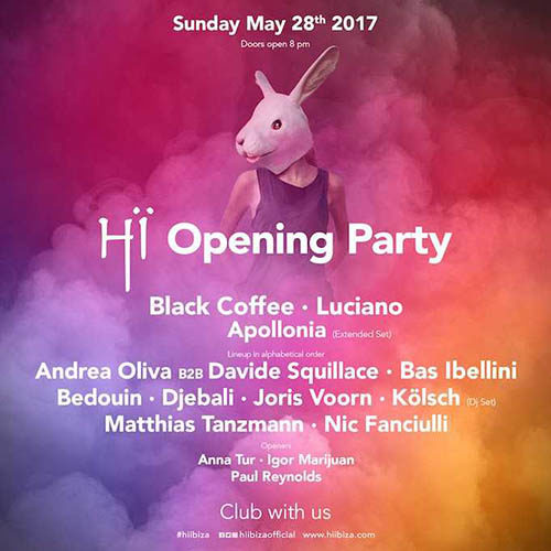 Matthias Tanzmann – Live @ Hï Ibiza Opening (Space Club, Ibiza) – 28-MAY-2017