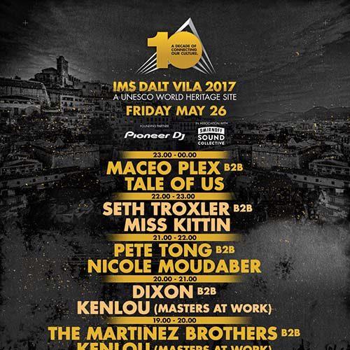 B.Traits b2b Jesse Rose – Live @ IMS Dalt Vila 2017 – 26-MAY-2017