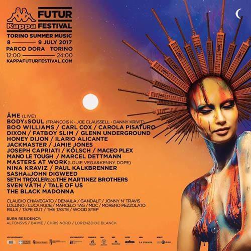 Ilario Alicante – live @ Kappa Futur Festival 2017 (Turin, Italy)