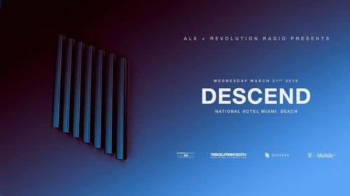 Detlef b2b ALX – Live @ Descend, National Hotel (Miami, USA) – 21.03.2018
