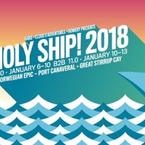 GG Magree – live @ Holy Ship 2018
