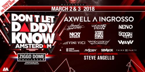 Nicky Romero – Live @ Don't Let Daddy Know (Ziggo Dome Amsterdam, Netherlands) – 03-MAR-2017