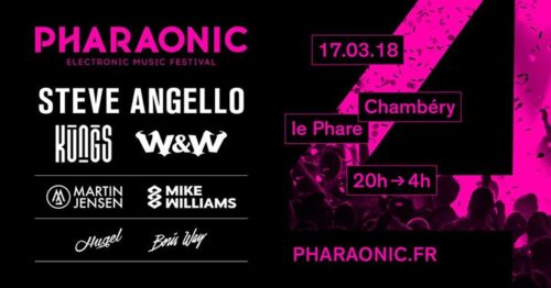 W&W – live @ Pharaonic Festival (France) – 17.03.2018