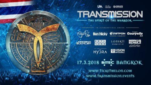 Markus Schulz pres. Dakota – live @ Transmission (Bangkok, Thailand) – 17-MAR-2018