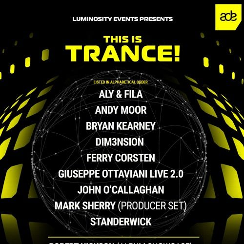 Aly & Fila – live @ Luminosity pres. This Is Trance! – 19-10-2019 (ADE 2019)