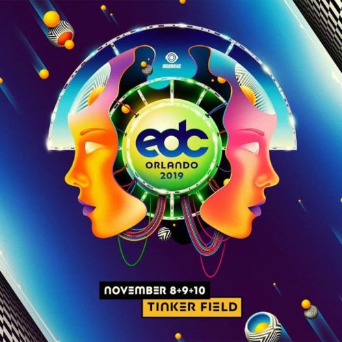 Cosmic Gate – live @ EDC Orlando 2019 (Electric Daisy Carnival)