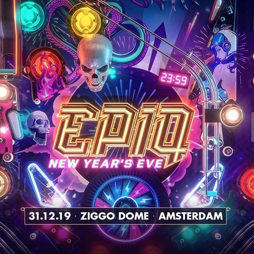 Psyko Punkz vs Frequencerz – live @ EPIQ New Years Eve 2019