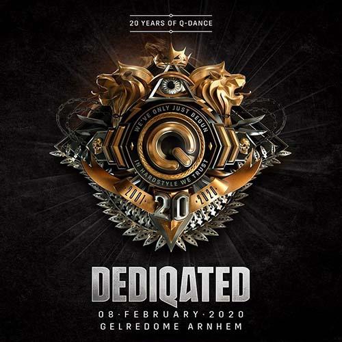 DJ Isaac & Technoboy & Tuneboy @ DEDIQATED 20 Years Of Q-Dance (Gelredome, Arnhem) 08-02-2020
