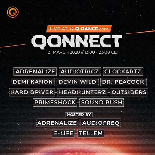 Devin Wild live @ QONNECT Uniting the world through hardstyle 21-03-2020