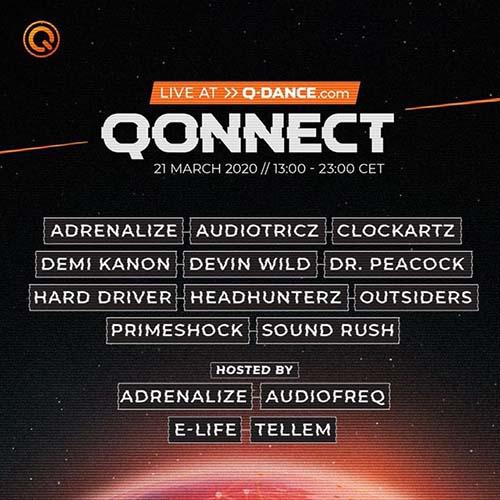 Demi Kanon live @ QONNECT Uniting the world through hardstyle 21-03-2020