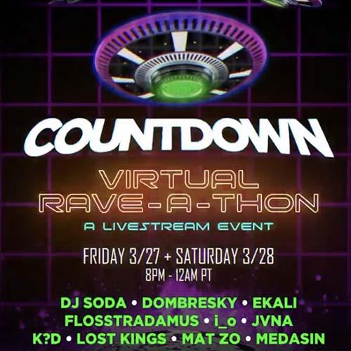 i_o – Countdown Virtual Rave-A-Thon