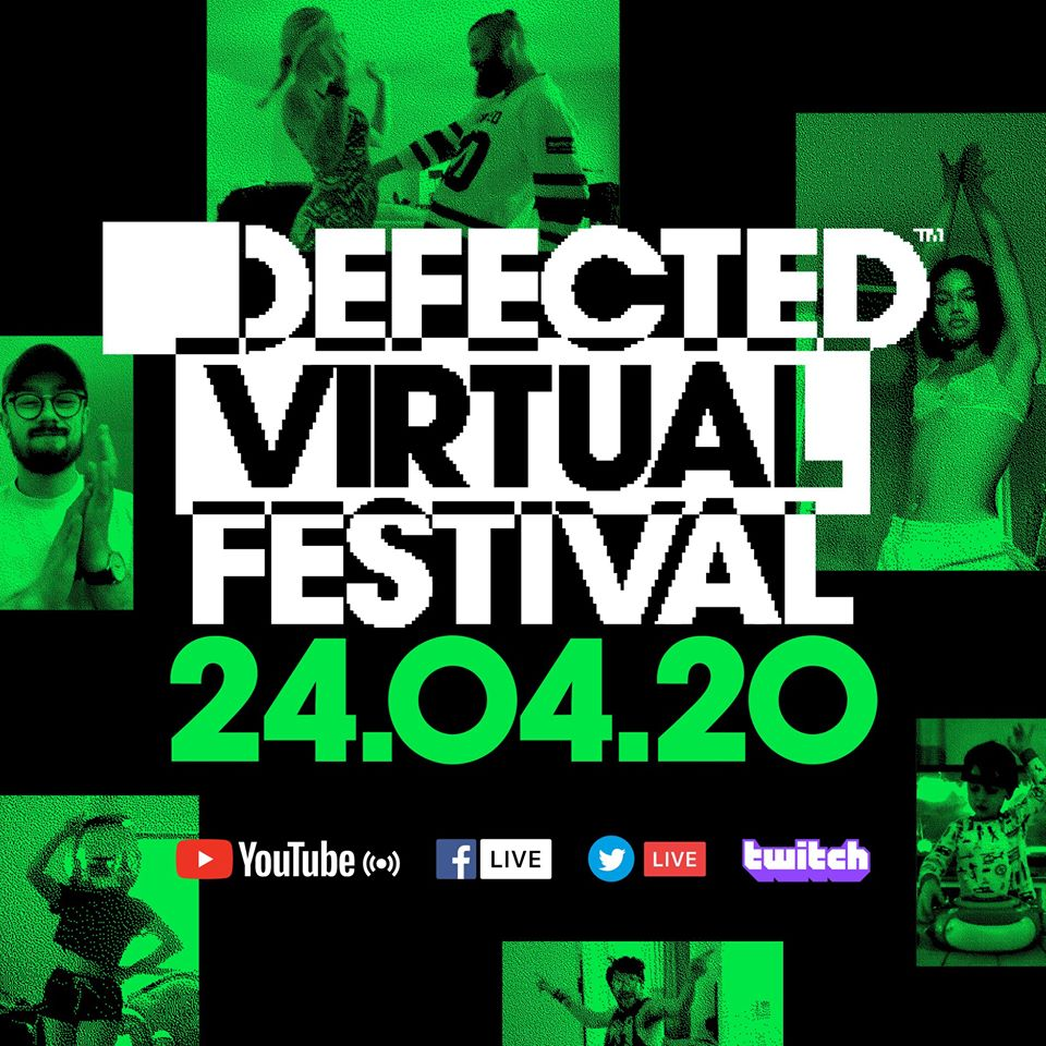 Defected Virtual Festival 4.0 – DJ Spen