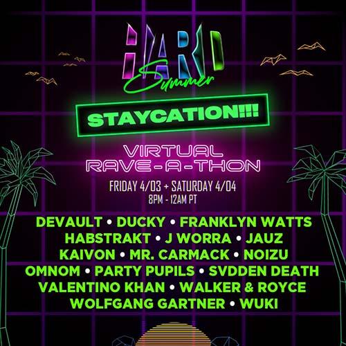 Devault – Hard Summer Staycation Virtual Rave-A-Thon