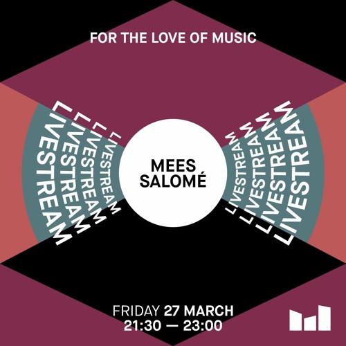 Mees Salomé – Livestream at De Marktkantine 27 March 2020