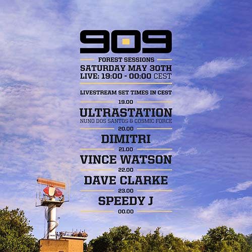 Speedy J – 909 Forest Sessions