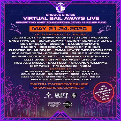 ATTLAS x Groove Cruise Virtual Festival