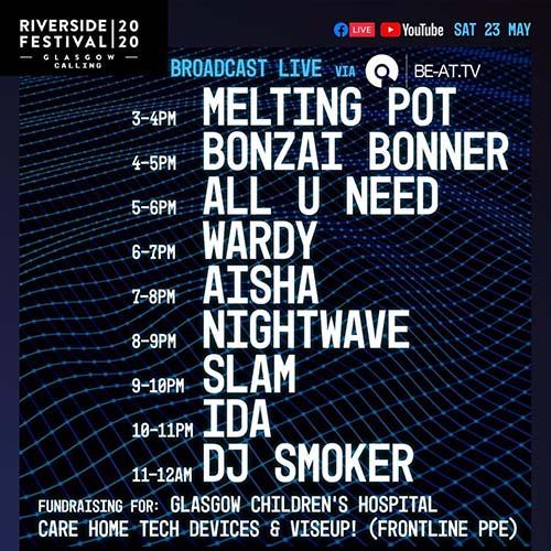 AISHA x Riverside Festival (23-5-20)