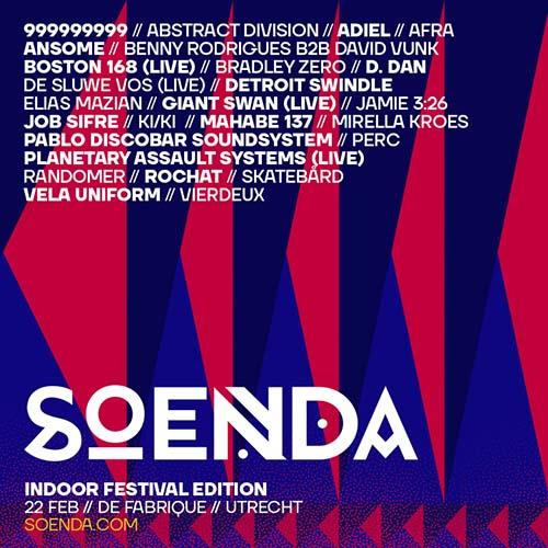 Perc @ Soenda Indoor Festival 2020