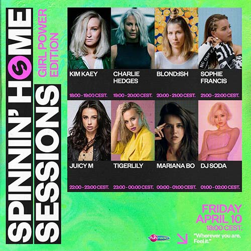 Juicy M @ Spinnin Home Sessions Girl Power Edition 10-04-2020