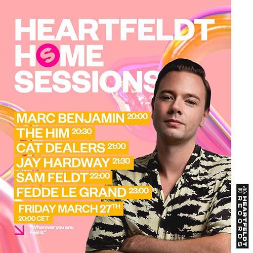 Cat Dealers live @ Heartfeldt Spinnin Home Sessions – 27-03-2020