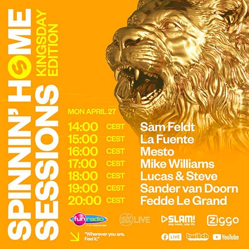 La Fuente @ Spinnin Home Sessions Kingsday – 27-04-2020
