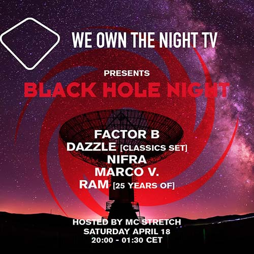 Marco V – We Own The Night Blackhole Night 18-04-2020
