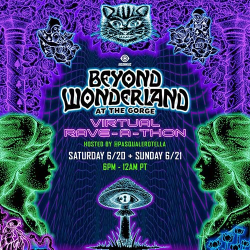 Habstrakt – Beyond Wonderland at the Gorge Virtual Rave-A-Thon (June 21, 2020)