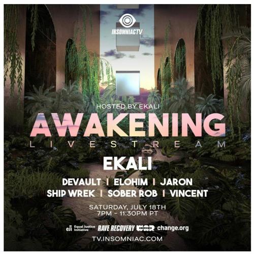 Sober Rob – Ekali's Awakening Livestream (July 18, 2020)