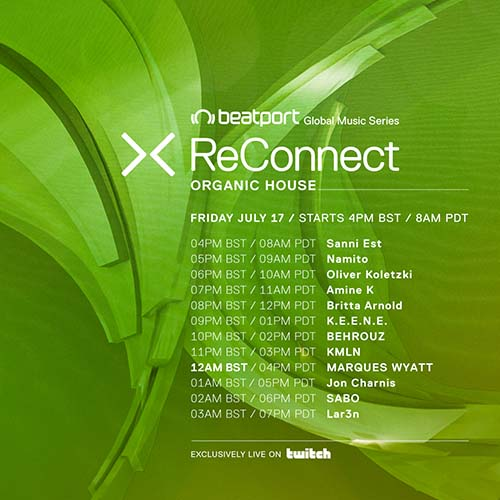 MARQUES WYATT – ReConnect Organic House
