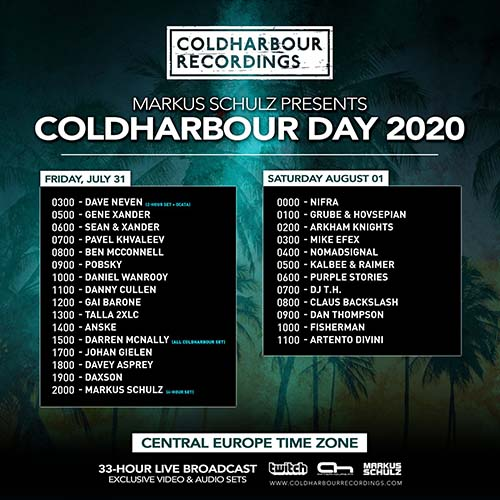 Daxson – Coldharbour Day 2020