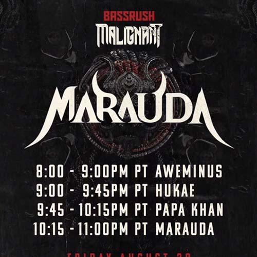Papa Khan – Bassrush presents Malignant Showcase ft. Marauda & Friends (August 28, 2020)