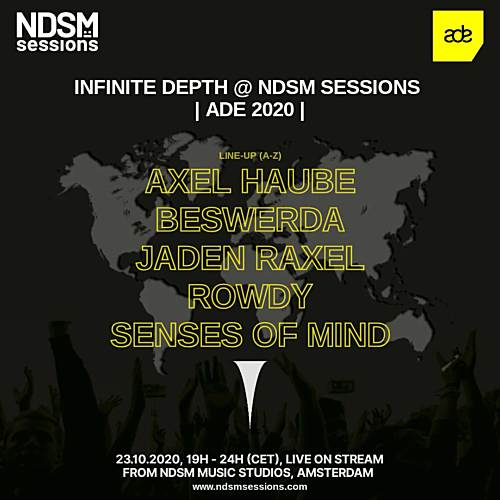 Axel Haube – Infinite Depth at NDSM Music – ADE 2020