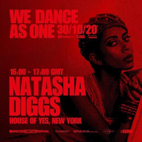 Natasha Diggs – We Dance As One (30-10-2020)
