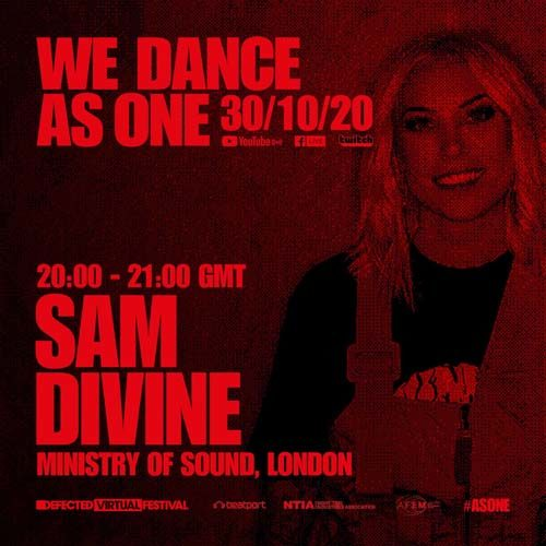 Sam Divine – We Dance As One (30-10-2020)
