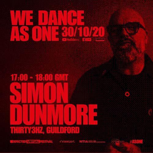 Simon Dunmore – We Dance As One (30-10-2020)