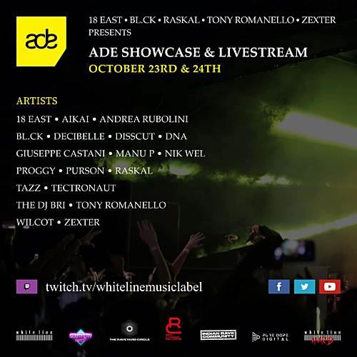 Manu P b2b Andrea Rubolini – White Line Music Livestream – ADE 2020