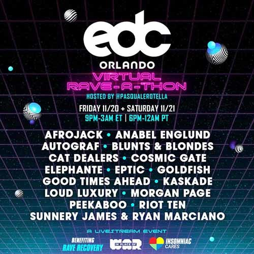 Cat Dealers – EDC Orlando Virtual Rave-A-Thon (November 20, 2020)