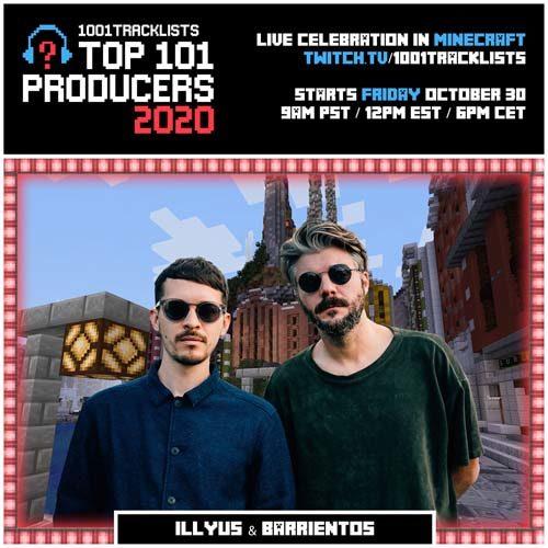 Illyus & Barrientos – Top 101 Producers 2020 Mix