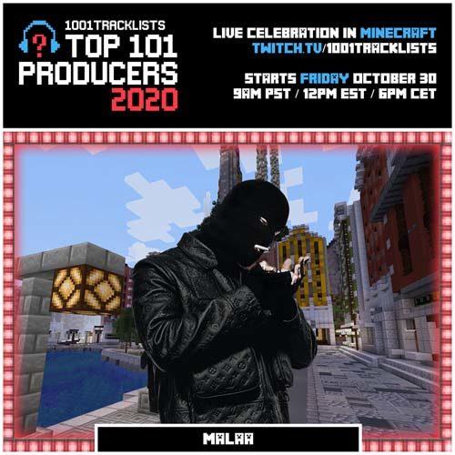 Malaa – Top 101 Producers 2020 Mix