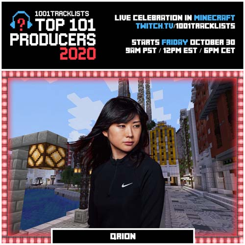 Qrion – Top 101 Producers 2020 Mix