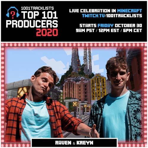 Raven & Kreyn – Top 101 Producers 2020 Mix