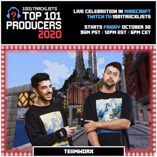 Teamworx – Top 101 Producers 2020 Mix