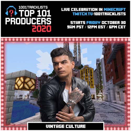Vintage Culture – Top 101 Producers 2020 Mix
