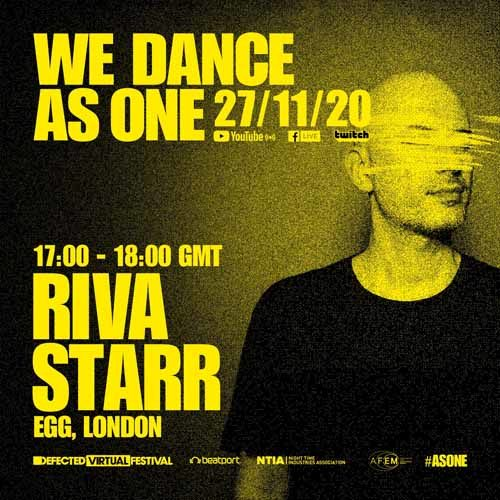 Riva Starr – We Dance As One 2.0